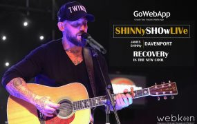 James Shinny Davenport Official Website and App is launched with Webkon